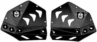 Pro Armor Black Replacement Revolution Heel Guard Plates Suzuki LTR 450 LTR450