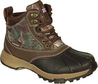 Old Dominion Footwear RW4121301-8 Women's Brown/Realtree Xtra Denver Boot 8