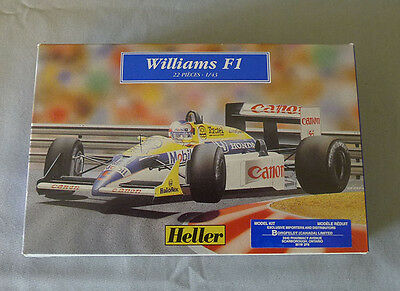 Heller France Williams F1 22 Pieces 1/43 Unmonted Model Kit With Box