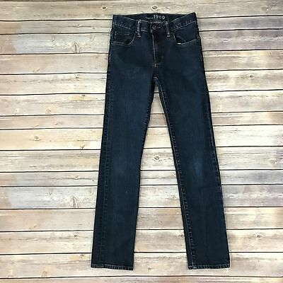 GAP KIDS Boys Size 14 Slim Dark Blue Skinny Jeans