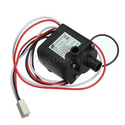 DC 12V 6W 100-350L/H Brushless Water Pump Motor Micro f/ PC Water Cooling System