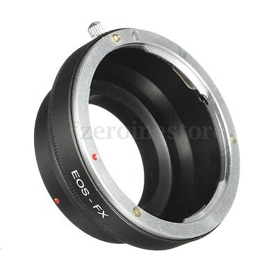 Camera Lens Adapter Ring For Canon EOS EF EF-S to Fujifilm Fuji X-Pro1 XPro1 FX