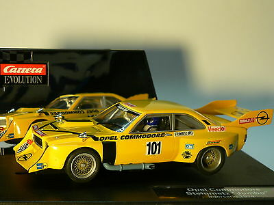 Carrera Evolution 27211 Opel Commodore Stonemason Jumbo Interseries 1974 NEW