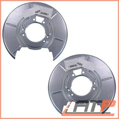 2X COVER DUST SPLASH PLATE FOR BRAKE DISC REAR 32178926