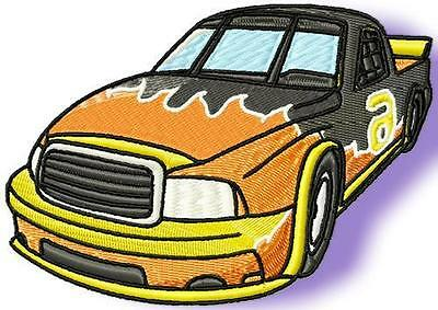 Hot Cars 20 Machine Embroidery Designs Cd 2 Sizes