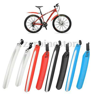 Bicycle Mountain Bike MTB Cycling Front & Rear Mud Guards Mudguards Fenders Set