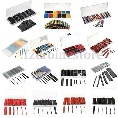 Assorted Heat Shrink Tube Wire Wrap Car Electrical Insulation Sleeving Box Kit