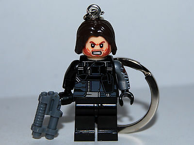 Winter Soldier Bucky Burnes Keychain - The Avengers - Captain America Friend