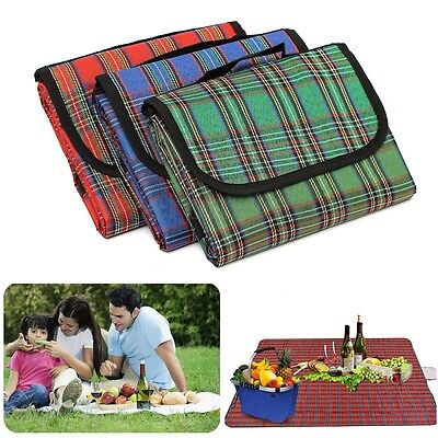New Folding Waterproof Camping Beach Picnic Mat Outdoor Spring Outing Picnic
