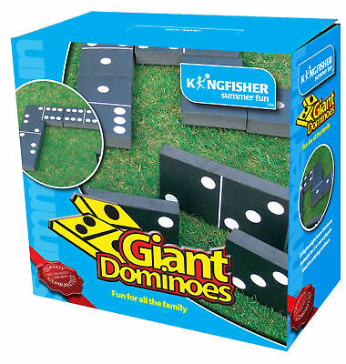 Giant Dominoes Garden Game Summer Fun Outdoor Indoor Party Kids BBQ Childrens
