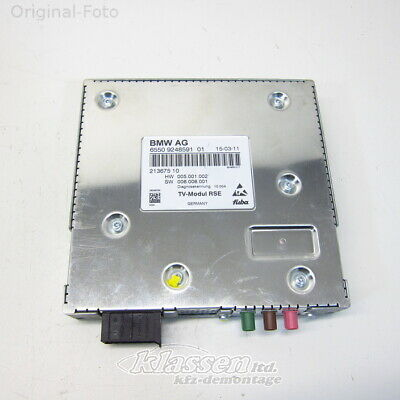 TV Tuner BMW F01 7-Series 06.08- 65509248591 TV module RSE
