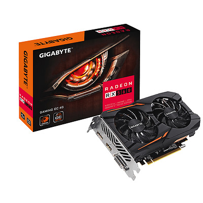 Gigabyte Radeon RX 560 4GB GAMING Graphics Card