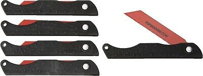"Tops PSSW05 Pocket Size Survival Saw Red 3.125"" Blade/Black Kydex Handle"