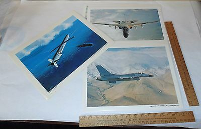 13 - GENERAL DYNAMICS Photographs and Print - Three Different