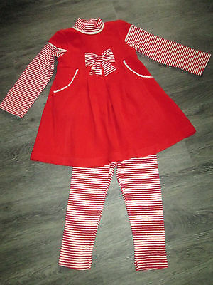 Little Girls Mayoral Chic 3Pce Dress/top/leggings Set Age 18Mths Nwt