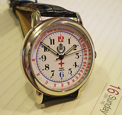 RAF Medical Officers Doctors Oxford Wrist Watch WW2 Design, Retro Vintage Dial.
