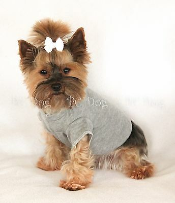 S Gray Short sleeved Dog T - Shirt clothes pet apparel Clothing Small PC Dog®