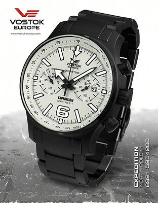 Vostok Europe Expedition Nordpol 1 Chrono 6S21-5954200b
