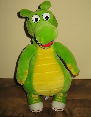 Dudley the Dragon Talking Plush Toy Vintage 1994 Dragon Tales WORKING
