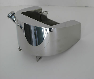 Polished Stainless Oil Tank 86-99 Softail Indian Bobber Harley