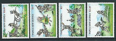 Papua New Guinea 2017 Traditional Salt Making Set Of 4 Unmounted Mint, Mnh