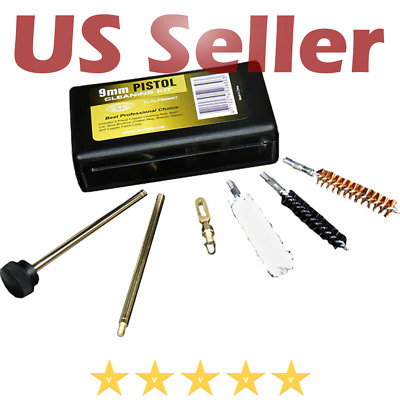 Utg Ruger .38 .357 9Mm Hand Gun Pistol Cleaning Kit Firearm Cleaner Range