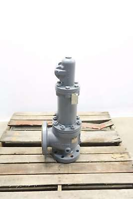 Consolidated 1910Kc-1-Ms-33-La 300Psi 3X4 In Steel Flanged Relief Valve D562291