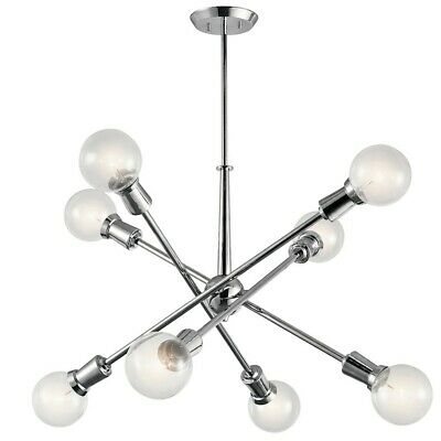 Kichler Armstrong Chandelier 8Lt, Chrome - 43118CH