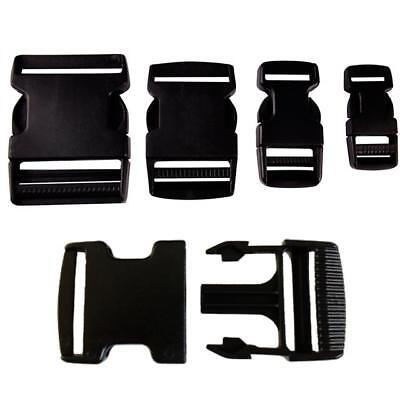 Plastic Delrin Side Release Buckles Clips For Webbing - 20Mm/25Mm/40Mm/50Mm
