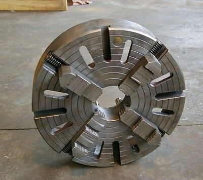 "20"" BISON 4 jaw chuck, D1-8 backing"