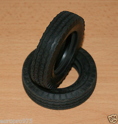 Tamiya Rough Rider/FAV/Buggy Champ, 9805108/19805108 Front Tyres/Tires, NEW