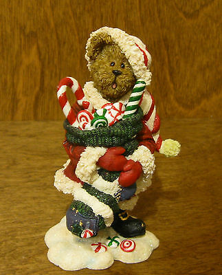 Boyds Bearstone #228440 Kandy Kris...Sweet Stuffins, CHRISTMAS From Retail Store
