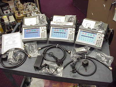 Anritsu S331L Sitemaster Test Set 2Mhz-4Ghz Freq Range- 3 Units Lot Sale