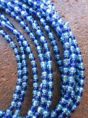 African Glass Beads -6 Strands [66612]