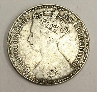 1883 Great Britain Gothic Florin Very Good VG8