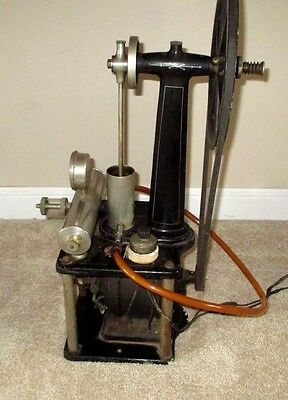 Vintage Cast Iron Industrial Mercantile Dental Electric Victor Motor Pump Drill