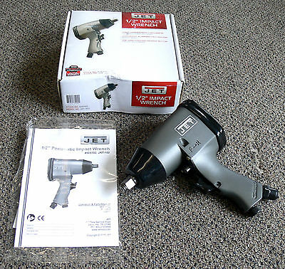 "JET Air 1/2"" Impact Wrench ~ Model: JAT-102"