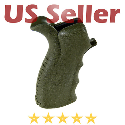 UTG Leapers .223 556 Rifle Tactical Ergonomic Pistol Grip OD Green