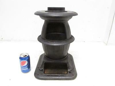 Small Antique Vintage Cast Iron Pot Belly Potbelly Parlor Stove