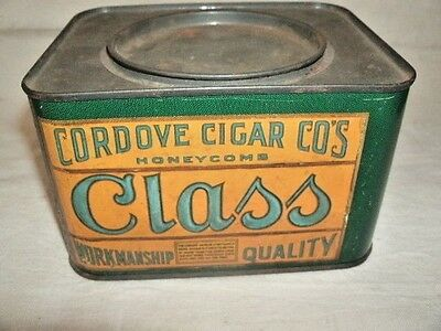 Vintage CLASS brand CIGAR CAN.
