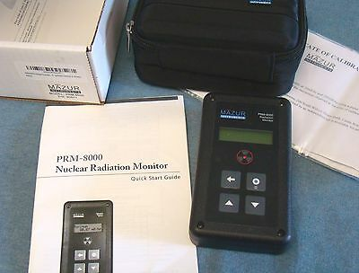 MAZUR PRM-8000 Nuclear Radiation Monitor geiger counter