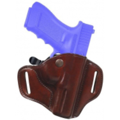 Bianchi  22152 CarryLok Belt Holster Right Hand For Glock 19/23 Black Leather