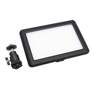 Pad192 LED Video Light Panel 3200-6000K Dimmable for Digital Canon Nikon Cameras