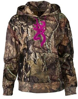 Browning 30174028-S Women's Mossy Oak Country Wasatch Performance II Hoodie - SM