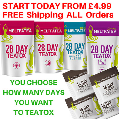 DETOX TEATOX SKINNYMINT BOOTEA HERBAL WEIGHT LOSS BURN FAT TEA BURNER You Choose