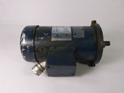 Leeson 098000.00 Electric Motor 1/2Hp 1750Rpm 90V NSS56C TEFC 5Amp ! WOW !