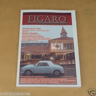 Compatible With Nissan Figaro Maintenance Guide and Workshop Manual