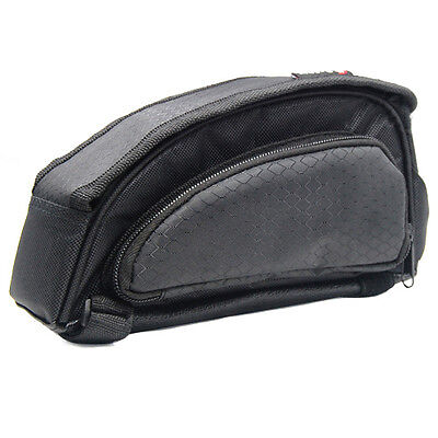 Bicycle Cycle Expandable Front Pannier Frame Bag for Mountain Bike Road Bike New