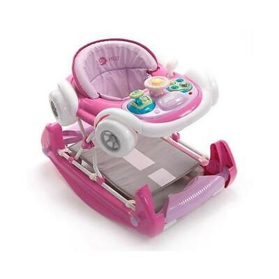 My Child Coupe Walker/Rocker (Pink) With Musical Play Tray