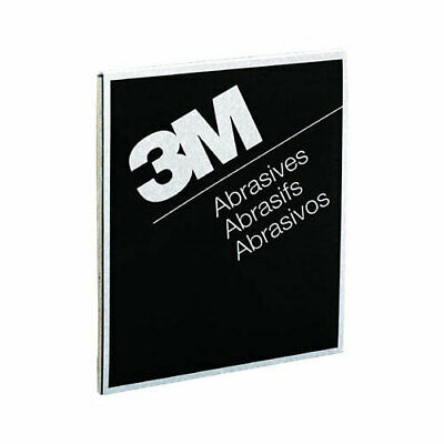 "3M 220 GRIT Wet or Dry Black Abrasive Sandpaper 9"" x 11"" Sheet 50 in a box 2007"